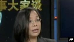 经济社会学家,中国人权(纽约)高级研究员何清涟女士