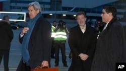 美國國務卿克里已經抵達瑞士日內瓦商議伊朗核項目