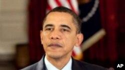 US President Barack Obama delivers the weekly address, 19 Dec 2009