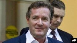 英国籍主持皮尔斯.摩根(Piers Morgan)