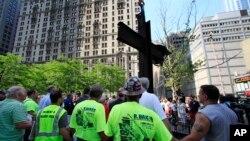"""La cruz es """"un símbolo de la esperanza y de naturaleza histórica"""", dijo el tribunal."""