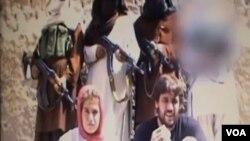 Pasangan suami-isteri Swiss bebas setelah disandera militan Taliban Pakistan selama delapan bulan lebih.