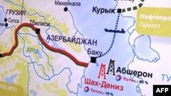 Xəzər dənizində yataqlar