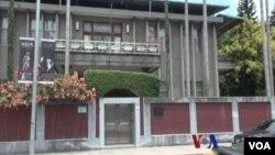 梵蒂岡駐台北大使館建築(視頻截圖)