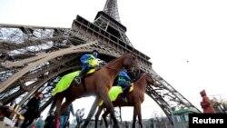 Thủ đô nước Pháp được bảo vệ kỹ càng hơn sau vụ tấn công khủng bố hồi tháng 11/2015.