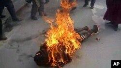 Ít nhất 92 người Tây Tạng đã tự thiêu ở miền tây Trung Quốc từ năm 2009, và chỉ riêng tháng 11 vừa qua đã có tới 28 vụ.