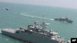 ایرانی بحری جنگی جہاز بحیرہٴ روم میں داخل