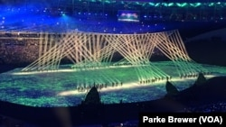 Otvaranje Olimpijade u Rio de Janeiru na stadionu Marakana 5. augusta 2016. godine