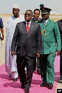Le président ghanéen John Atta Mills