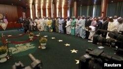 Jerin Sabbin Minstocin da Shugaba Buhari nada a Bikin Rantsar Dasu a Abuja jiya