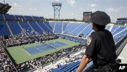 Gelanggang Tenis Nasional-Billie Jean King ini akan mulai direnovasi pada musim gugur 2013 (foto: dok.).