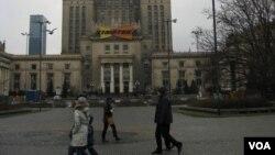 波兰讨论拆除华沙地标-斯大林摩天大楼