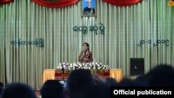 ခ်င္းေဒသခံမ်ား ေဒၚေအာင္ဆန္းစုၾကည္နဲ႔ေတြ႔ဆံု (Myanmar State Counsellor Office)