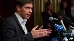 阿根廷经济部长阿克塞尔•基西约夫