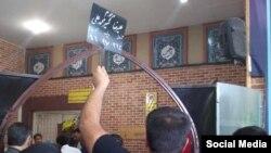 عکسی که از خاکسپاری علیرضا شیرمحمدعلی در شبکههای اجتماعی منتشر شده است