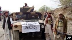 Thành viên nhóm Tehreek-e-Taliban ở Pakistan, một nhóm cấu kết với mạng lưới al-Qaida