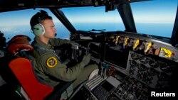20일 호주 공군 정찰기가 남인도양 상공에서 실종된 말레이시아 항공 여객기 MH307 잔해를 찾고 있다.