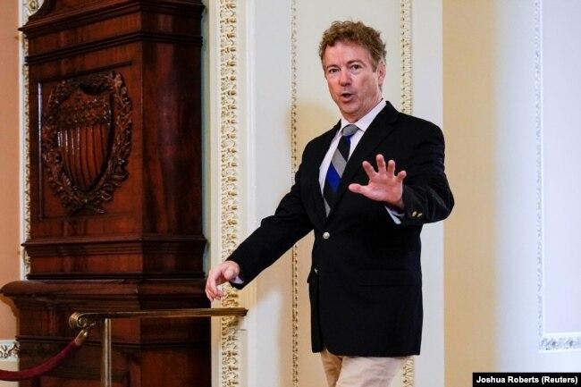 Thượng nghị sĩ Cộng hòa Rand Paul của Kentucky là người đầu tiên trong Thượng viện Hoa Kỳ dương tính với virus corona.