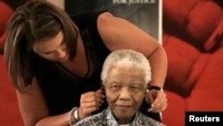 Zelda la Grange e Nelson Mandela