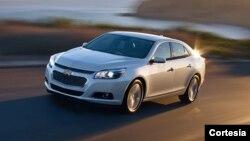Entre los últimos modelos reportados con problemas por GM está el Chevrolet Malibu 2014. (Foto: GM)
