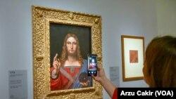 Louvre Müzesi'nde Dev Leonardo da Vinci Sergisi