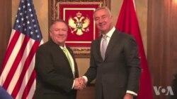 Američki državni sekretar u poseti Crnoj Gori