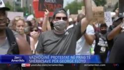 Vazhdojnë protestat ndërsa bëhen përgatitjet për shërbesa përkujtimore për George Floyd