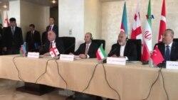 Azərbaycan, Türkiyə, İran və Gürcüstan xarici işlər nazirləri görüşüb