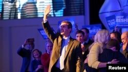 Državni tužilac Kentakija Endi Bešir reaguje na izborne rezultate tokom skupa u Luivilu (Foto: Reuters/Harrison McClary)
