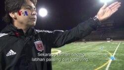 Beberapa Teknik Passing - Belajar Bola, Mantap!