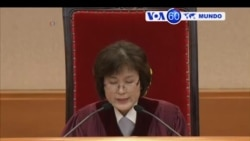 Manchetes Mundo 10 Março 2017: Park Gean-hye afastada