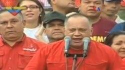 Diosdado Cabello notifica nuevas denuncias contra Leopoldo López.