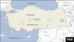 土耳其版圖。