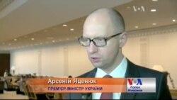 Яценюк: Знаючи, що у Росії у голові, ставлюсь до мирних переговорів скептично