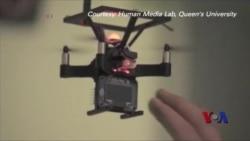 用微型无人机创建实体虚拟现实