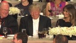 Trump y Clinton de las risas a las criticas