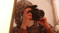عکاسخانۀ ویژۀ زنان با مدیریت یک زن در لشکرگاه