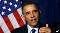 President Barack Obama, March 13, 2013 file photo.