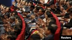 Việc các cơ quan nhà nước tổ chức liên hoan sau các kỳ họp rất phổ biến ở Việt Nam, chi phí cho các tiệc tùng này thường được trích ra từ ngân sách nhà nước. (Ảnh tư liệu)
