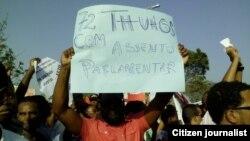 Manifestações em Cabo Verde