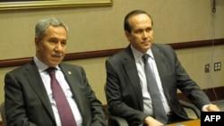 Başbakan Yardımcısı Bülent Arınç ve Washington Büyükelçisi Namık Tan