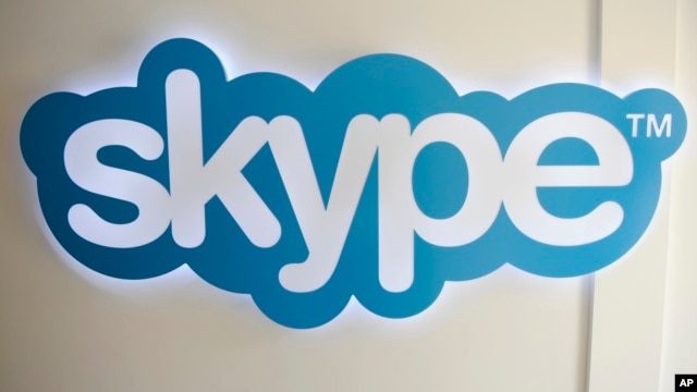 FILE - The Skype logo is pictured at Skype headquarters in Luxembourg, May 10, 2011.