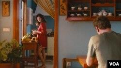"""""""Desde que la vi por primera vez, en la película Jamón, jamón,... supe que tenía que trabajar con ella."""", Almodóvar refiriéndose a Penélope Cruz."""