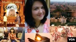 Mona Strassburger , Producer of Mudras Calling, Myanmar Movie