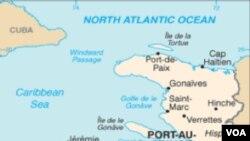 Kat jeyografik peyi d'Ayiti