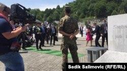 Srebrenica - Potočari - Bosnia and Herzegovina - Dritan Abazović on 26th commemoration for victims of Srebrenica genocide - Jully 11 2021