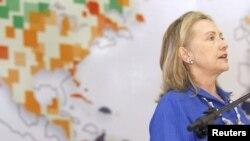 Hillary Clinton, considera el apoyo a las mujeres emprendedoras en el hemisferio una prioridad.