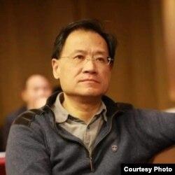清華大學前法學教授許章潤(資料照片)
