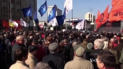 Russians Rally for Press Freedom, Truth