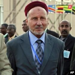 L'ancien ministre libyen de la Justice, Mustafa Abdel-Jalil, après sa rupture avec Kadhafi